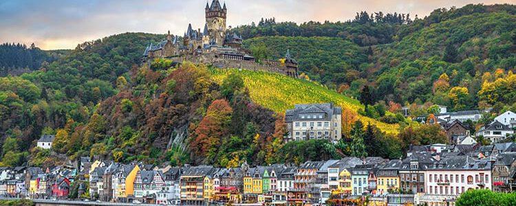 De Duitse stad Cochem